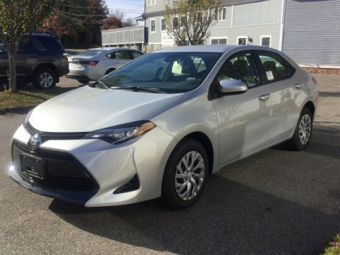 New 2017 Toyota Corolla LE FWD 4dr Car
